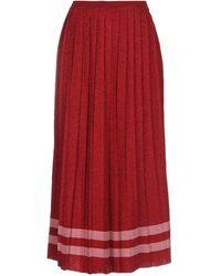 VIKI-AND - 3/4 Length Skirt - Lyst