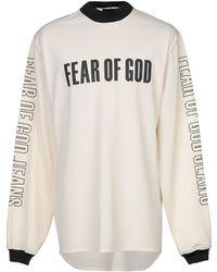 Fear Of God Sweat-shirt - Blanc