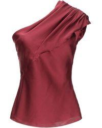 Lanvin Top - Rouge