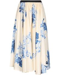 Antonio Marras Long Skirt - Blue