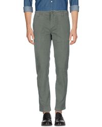 Department 5 Casual Trouser - Green