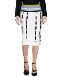Paolo Errico - Knee Length Skirts - Lyst