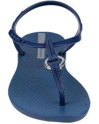 Ipanema Toe Strap Sandal - Blue