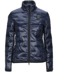 Blauer Synthetic Down Jacket - Blue