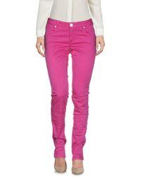 Siviglia Casual Trousers - Pink