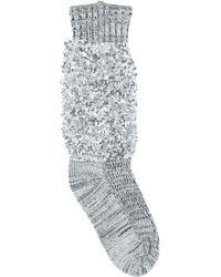 Sacai Socks & Hosiery - Gray