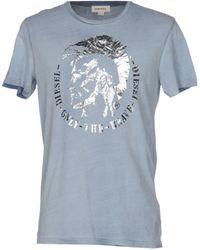DIESEL T-shirt - Bleu