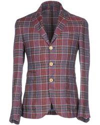 Domenico Tagliente Suit Jacket - Purple