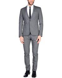 Les Hommes - Suit - Lyst