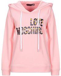 Love Moschino Felpa - Rosa
