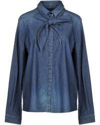 Armani Jeans Denim Shirt - Blue