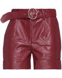Silvian Heach Shorts & Bermuda Shorts - Red