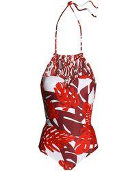 Mikoh Swimwear Badeanzug - Rot