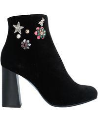 Patrizia Pepe Ankle Boots - Black