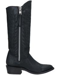 Mexicana Knee Boots - Black
