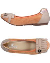 Hogan - Ballet Flats - Lyst