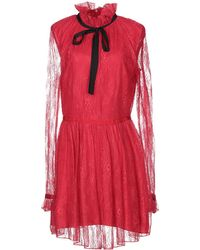 Pinko Short Dress - Red