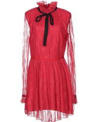 Pinko Vestito corto - Rosso