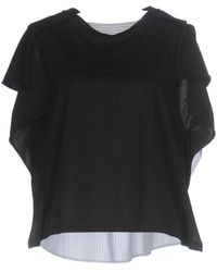 MM6 by Maison Martin Margiela - T-shirt - Lyst