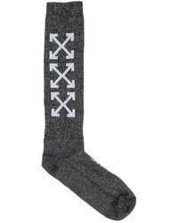 Off-White c/o Virgil Abloh Short Socks - Black
