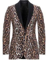 R13 Suit Jacket - Brown