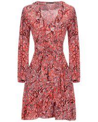 Maje Kurzes Kleid - Rot
