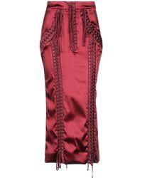 Dolce & Gabbana Midi Skirt - Red