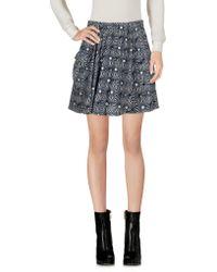 Free People - Mini Skirt - Lyst