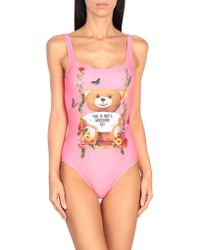 Moschino One-piece Swimsuit - Pink