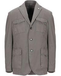 L.B.M. 1911 Suit Jacket - Grey