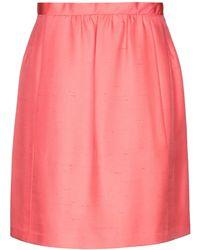 Balenciaga Knee Length Skirt - Pink