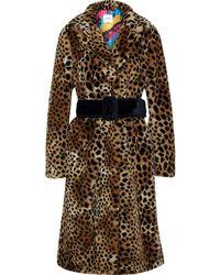 Ainea Teddy Coat - Multicolour