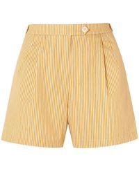 Tory Burch Shorts - Yellow