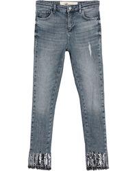 Blumarine Denim Trousers - Blue