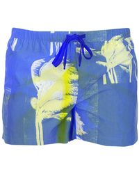 DOUBLE RAINBOUU Swim Trunks - Blue