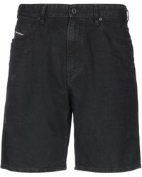 DIESEL - Jeansbermudashorts - Lyst