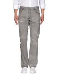 Fabric-Brand & Co. Denim Pants - Gray