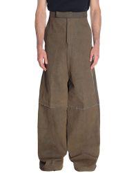 Rick Owens Denim Pants - Brown