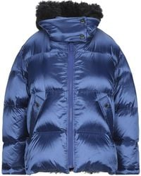 Army by Yves Salomon Down Jacket - Blue