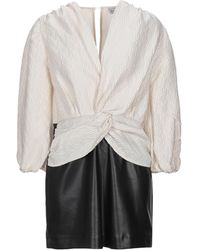 WEILI ZHENG Short Dress - White