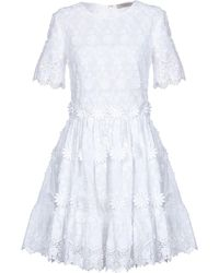 Piccione.piccione Short Dress - White