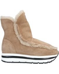 Voile Blanche Ankle Boots - Natural
