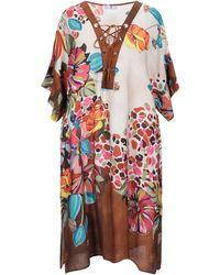 Sfizio Short Dress - Natural