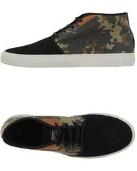 Wesc Sneakers abotinadas - Negro
