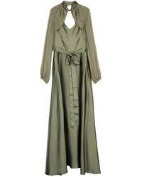 Pinko Vestito lungo - Verde