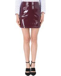 Minimum Mini Skirt - Purple