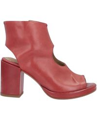 Ernesto Dolani Ankle Boots - Red