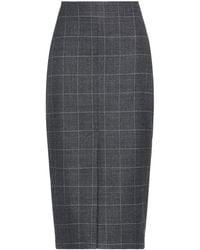 Ballantyne Midi Skirt - Grey