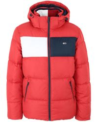 Tommy Hilfiger Synthetic Down Jacket - Red