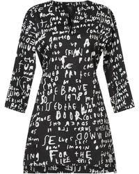 Zero + Maria Cornejo Short Dress - Black